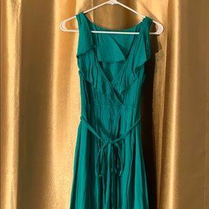 Aqua green sundress